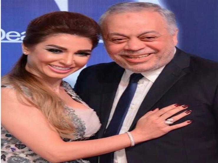 بالفيديو.. روجينا تحتفل بعيد ميلاد أشرف زكي