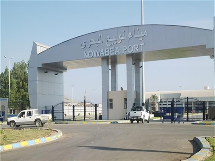 إغلاق ميناء نويبع بسبب الأحوال الجوية