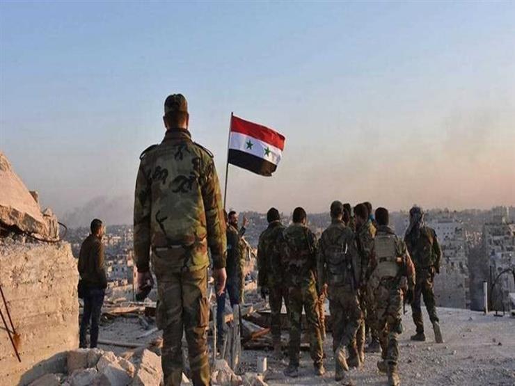 الجيش السوري يستهدف مواقع للإرهابيين بريف حماة الشمالي