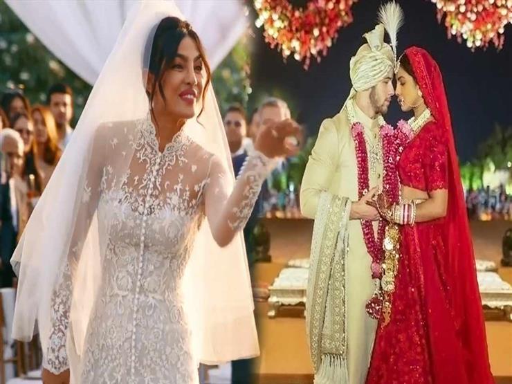 بمليوني قطعة لؤلؤ.. بريانكا تشوبرا تكشف عن الصور الأولى لفستان زفافها