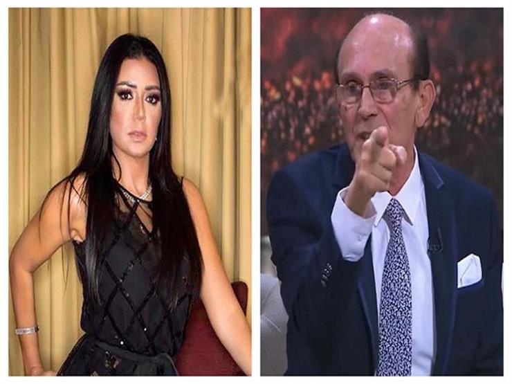 """محمد صبحي يدافع عن رانيا يوسف في أزمة الفستان: """"فنانة محترمة وملتزمة"""""""