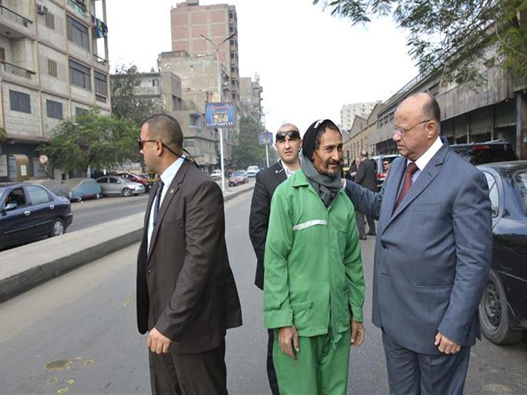 في جولة مفاجئة.. محافظ القاهرة يحيل رئيس حي حدائق القبة للتحقيق