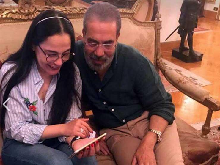 مدحت العدل ينهئ شريهان في عيد ميلادها