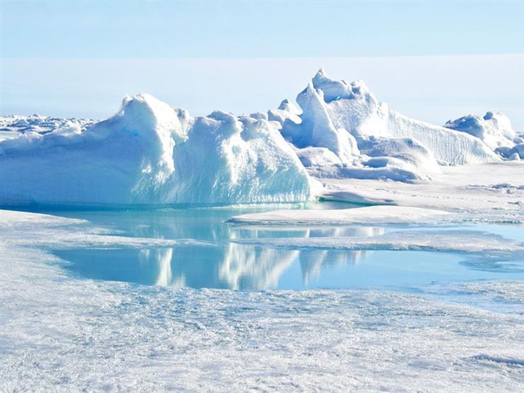 الغطاء الجليدي جرينلاند يذوب بمستويات