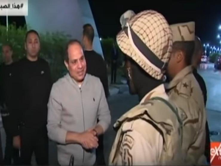 بالفيديو.. السيسي يتفقد شرم الشيخ بالدراجة الهوائية
