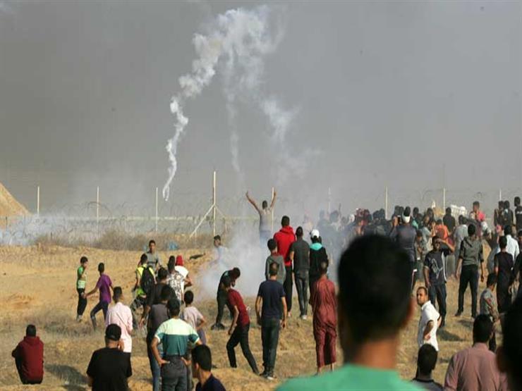 إصابة 145 فلسطينيًا في مواجهات مع جيش الاحتلال شرق قطاع غزة