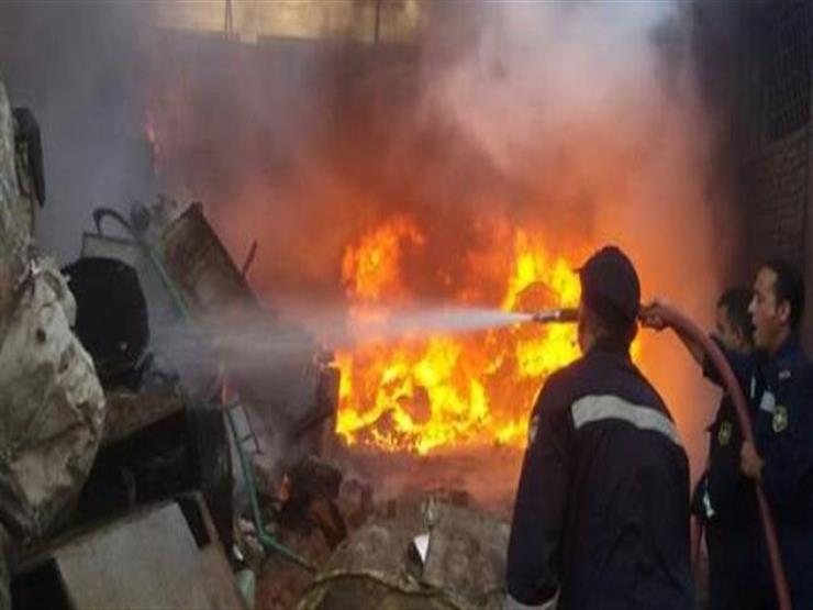 الصحة: لا إصابات في حريق مخزن بالسيدة زينب