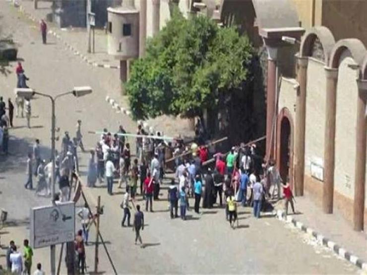 الجنح تُحاكم عاطل اقتحم كنيسة مارجرجس بعين شمس اليوم