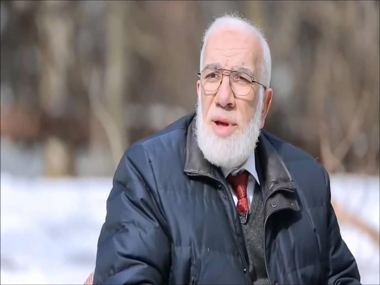 مؤثر - حوار الرحيل - الشيخ عمر عبد الكافي يشاهد جنازته
