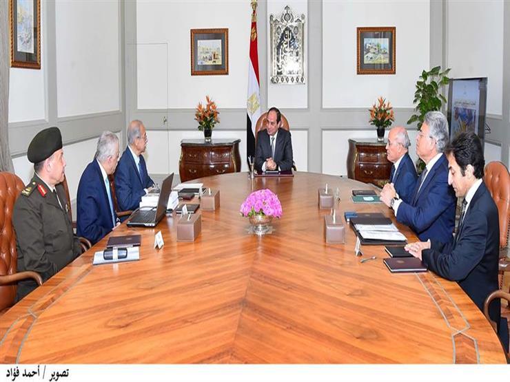 السيسي يناقش استراتيجية تطوير التعليم مع رئيس مجلس الوزراء