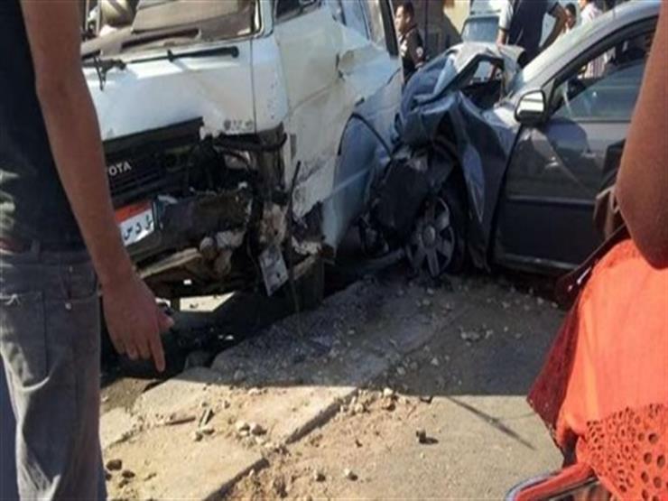 أمن الجيزة يكشف ملابسات إصابة 9 أشخاص في حادث أعلى محور صفط