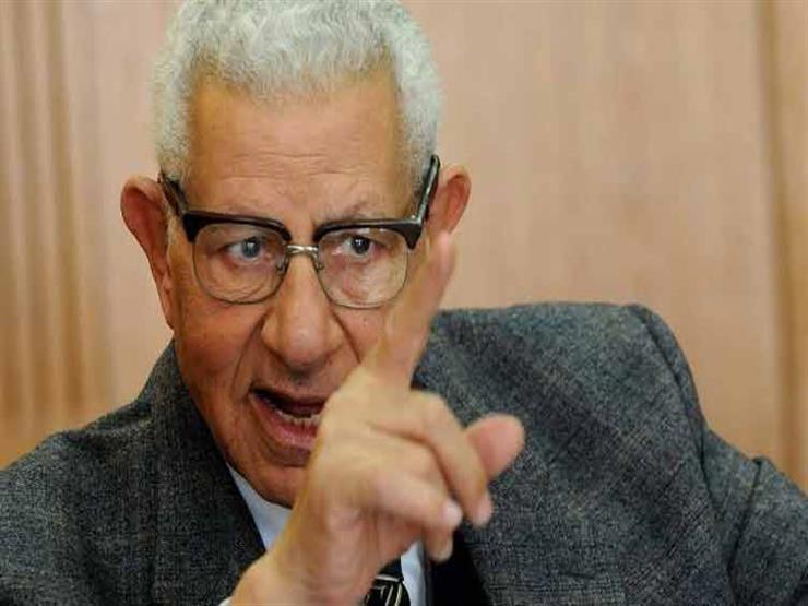 """مكرم محمد أحمد: وصف """"إعلام الدولة"""" ليس عيباً"""