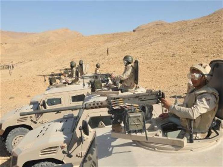 لحظة مطاردة الإرهابيين واقتحام قوات الجيش لأوكارهم -فيديو