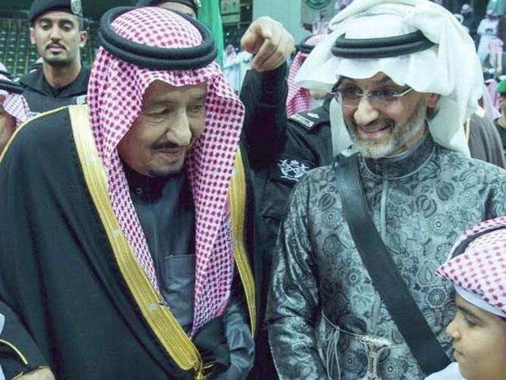 """الوليد بن طلال """"يرقص مع الملك"""" في أول لقاء بعد الإفراج عنه"""