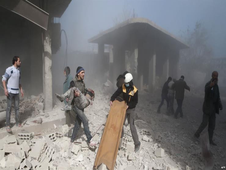 المرصد السوري: مقتل امرأة وإصابة 7 في قصف للنظام على الغوطة الشرقية