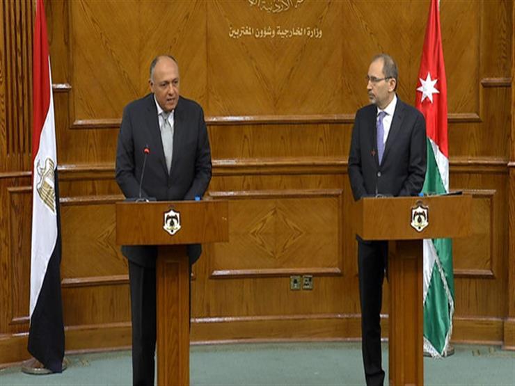 سامح شكري يلتقي نظيره الأردني على هامش القمة العربية الاقتصادية ببيروت