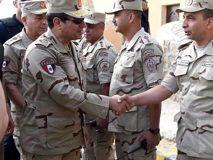 برلماني: ظهور السيسي بالزي العسكري أمر طبيعي...مصراوى
