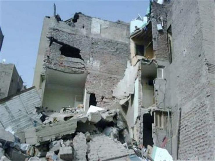 انهيار3 منازل بسوهاج دون وقوع خسائر بشرية