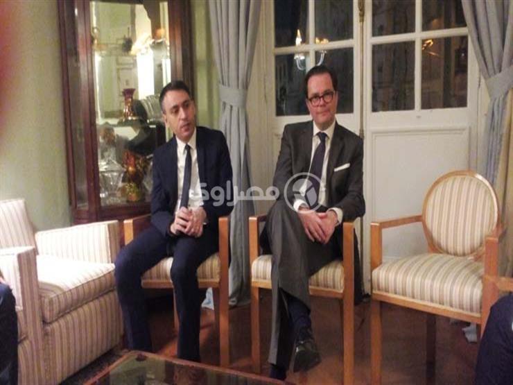 سفير فرنسا بمصر يكشف عن موقف بلاده من سد النهضة والقدس (صور)