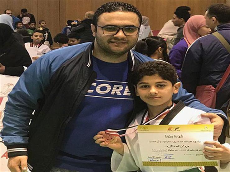 مروان زينه يفوز بالميدالية البرونزية في بطولة الجمهورية لناشئي التايكوندو