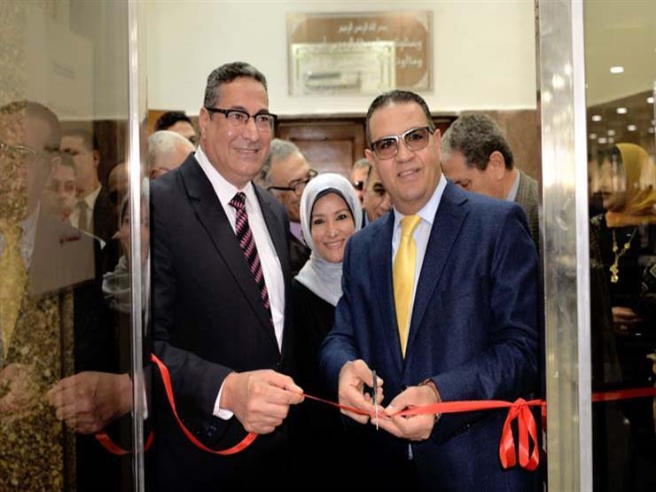 بالصور.. رئيس جامعة المنصورة يفتتح متحف التشريح بكلية الطب...مصراوى