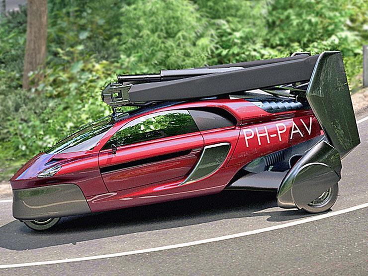 """بالفيديو.. شركة هولندية تعلن عن أول """"سيارة طائرة"""" بالأسواق في 2018"""