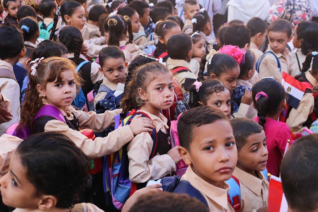 أمراض الأطفال بالمدارس.. قوس العدوى مفتوح