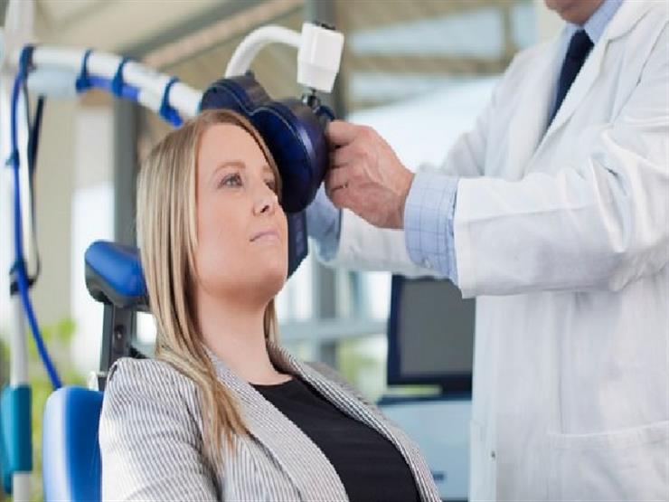 التحفيز المغناطيىسى للمخ يعمل على تغيير الإدراك العاطفى السلبى