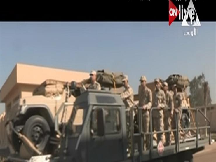 بالفيديو.. لقطات حيّة للعملية العسكرية الشاملة بسيناء