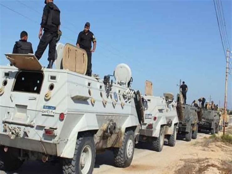 ضبط عنصر تكفيري و100 مشتبه به في حملات الشرطة بشمال سيناء
