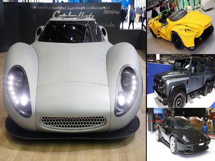 """بالصور.. """"أقبح"""" 5 سيارات في معرض جنيف الدولي 2018"""