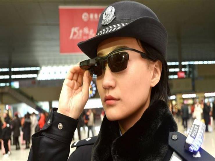 نظارة ذكية لتعزيز الأمن في الصين