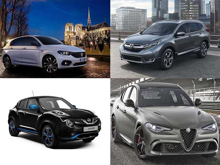 """6 سيارات ظهرت في معرض """"جينيف"""" متوفرة في السوق المصري.. تعرف عليها"""
