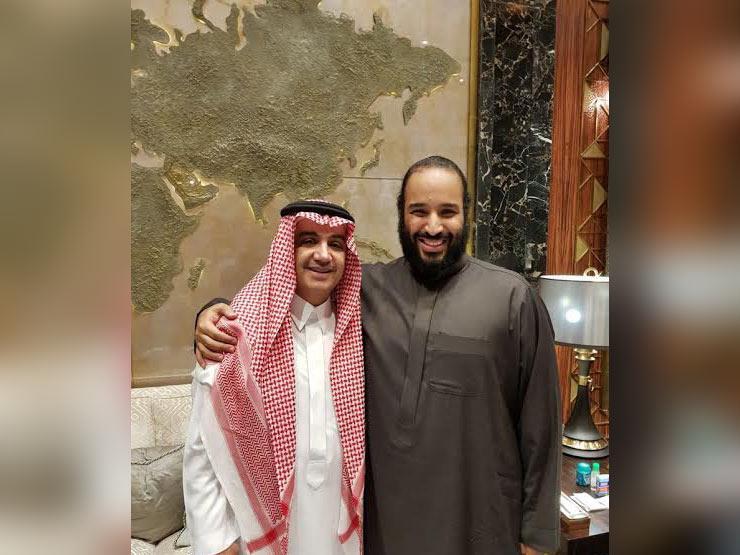 """أول ظهور لمالك """"إم بي سي"""" بعد إطلاق سراحه مع الأمير محمد بن سلمان"""
