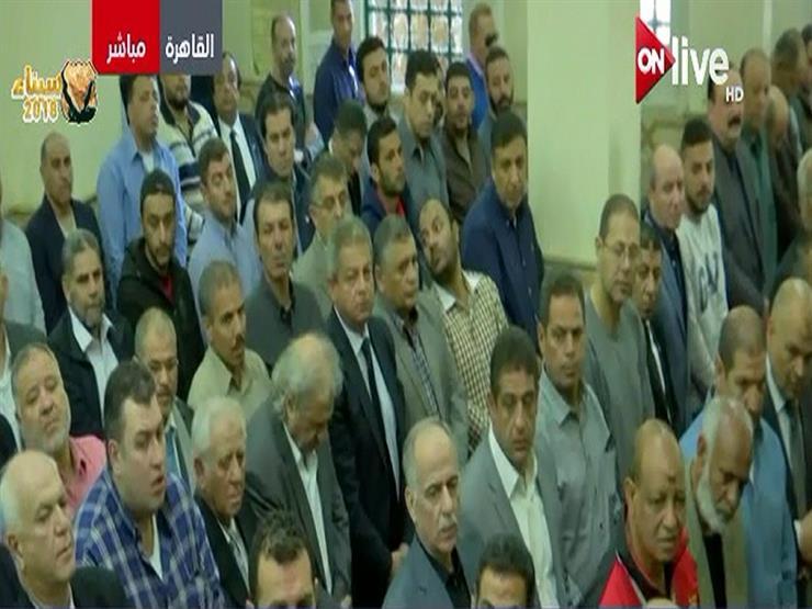 لحظة صلاة الجنازة على جثمان سمير زاهر بمسجد عمر بن العزيز - فيديو