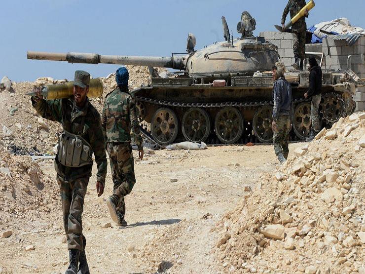 المرصد : الجيش السوري يدخل بلدة رئيسية في الغوطة الشرقية