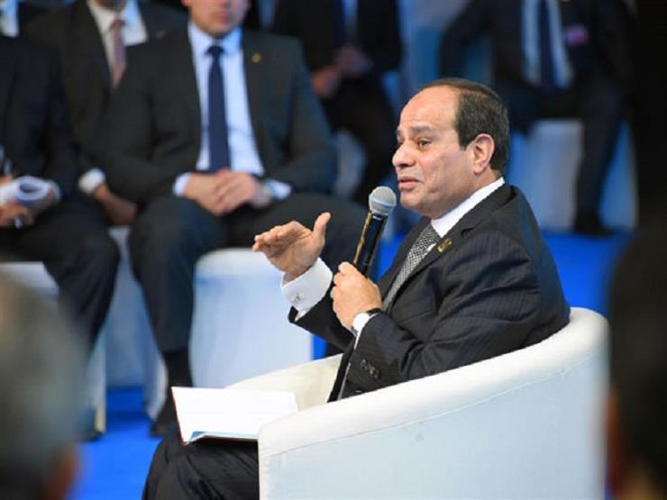 """السيسي يكشف للمصريين """"أين ذهبت أموال قناة السويس الـ 64 مليار جنيه"""