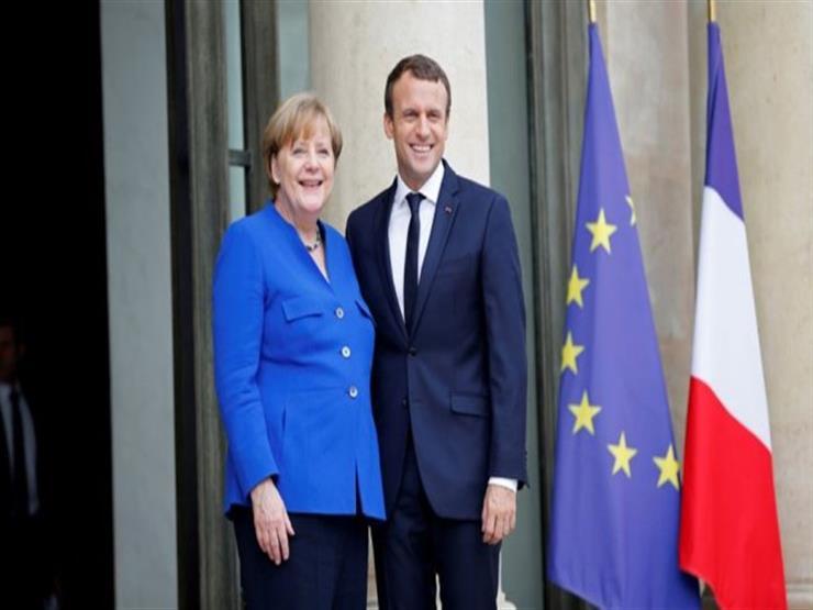 ميركل تلتقي ماكرون في باريس الأربعاء المقبل