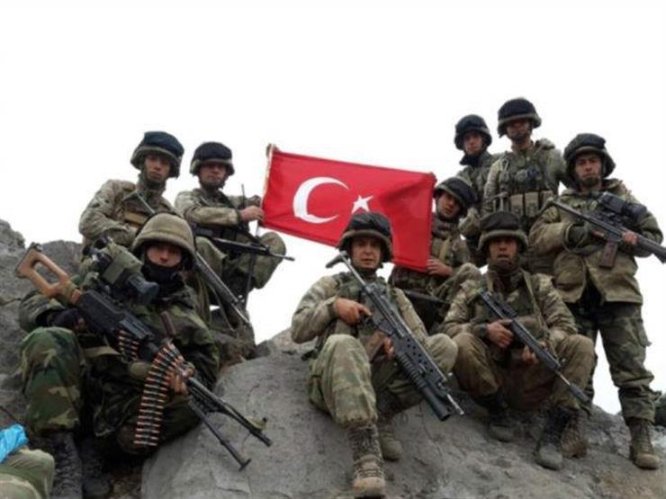 تركيا: تحييد 12إرهابيا من حزب العمال الكردستاني شمالي العراق...مصراوى