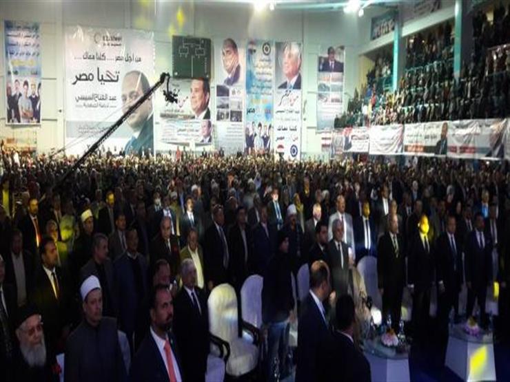 """""""كلنا معاك من أجل مصر"""": ٢٨ ألف مندوب للحملة في اللجان الانتخابية"""