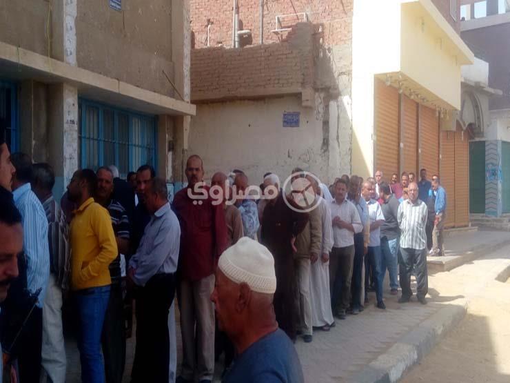 إقبال على التصويت في الانتخابات الرئاسية ببئر العبد في شمال سيناء