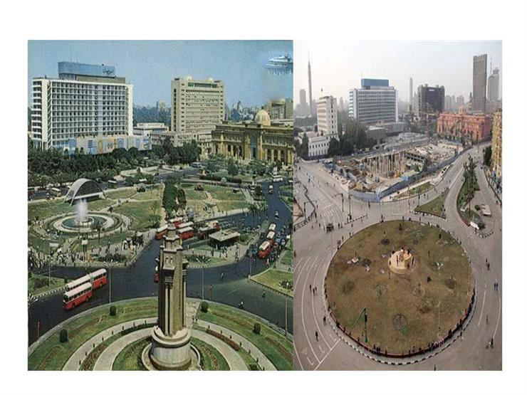 قبل تطويره.. شاهد كيف تغير ميدان التحرير؟ (فيديوجراف)