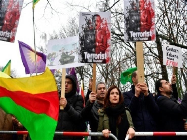 آلاف يتظاهرون في برلين احتجاجا على الهجوم التركي على شمال سوريا