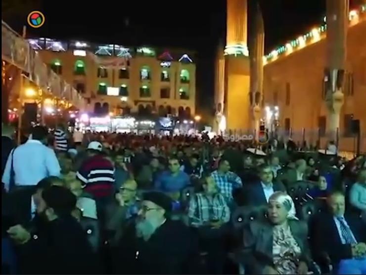 أهالي الجمالية ينظمون احتفالية لتأييد الرئيس السيسي