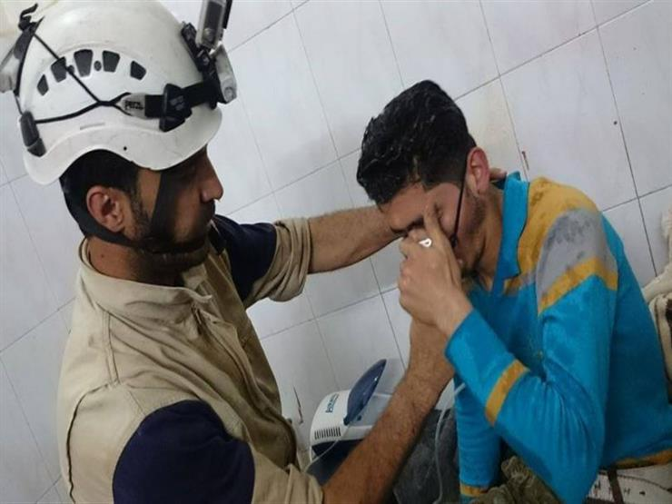 العربية: هجوم باستخدام غاز الكلور على بلدة حمورية السورية