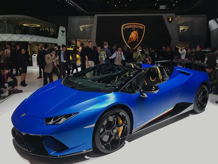 بالصور تعرف على أحدث السيارات في معرض جنيف 2018 مصراوى