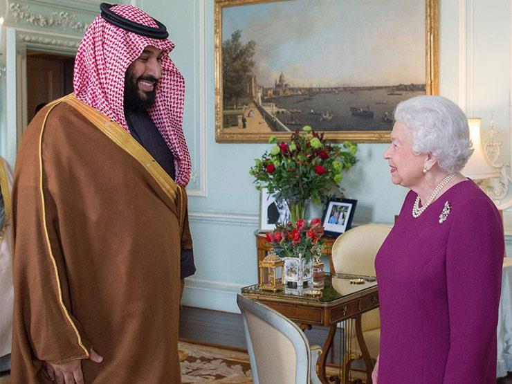 الملكة إليزابيث تستقبل محمد بن سلمان في بريطانيا