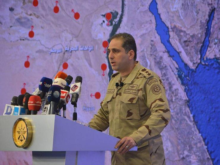 المتحدث العسكري: الانفجار وقع في مخزن شركة خارج مطار القاهرة
