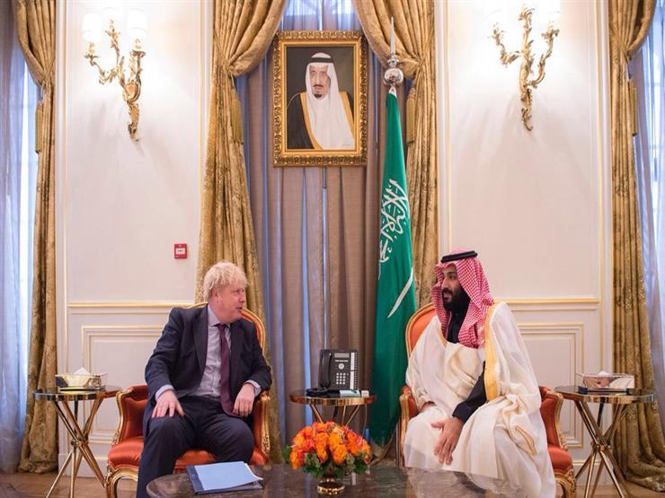 محمد بن سلمان يلتقي وزير خارجية بريطانيا في حضور رئيس المخابرات السعودية