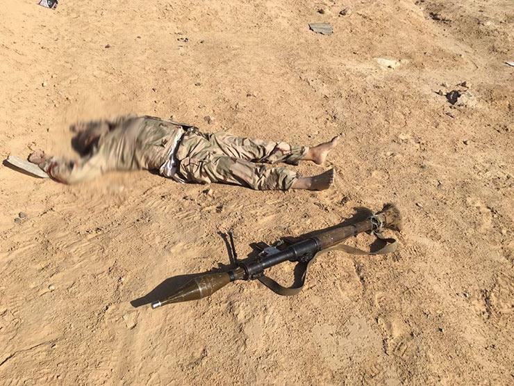 القوات المسلحة تعلن القضاء على 47 تكفيريًا وتدمير 29 ملجًأ للإرهابيين